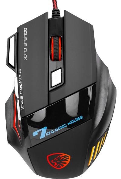 Hytech Gamy Hy-X7 Rainbow LED Oyuncu Mouse