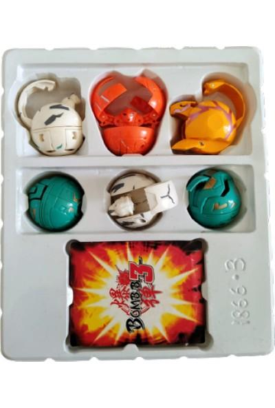 Bakugan 6'lı Bakugan Seti