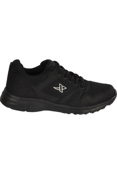 Xstep 020 Siyah-Siyah Erkek Spor Ayakkabı
