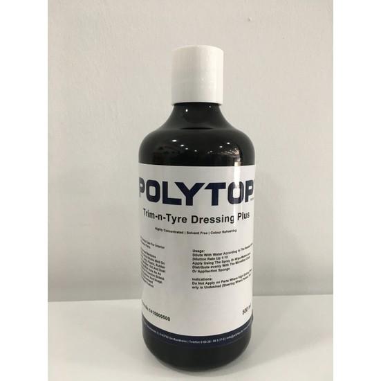 Polytop Trim & Tyre Dressing 500ML Bölünmüş Ürün