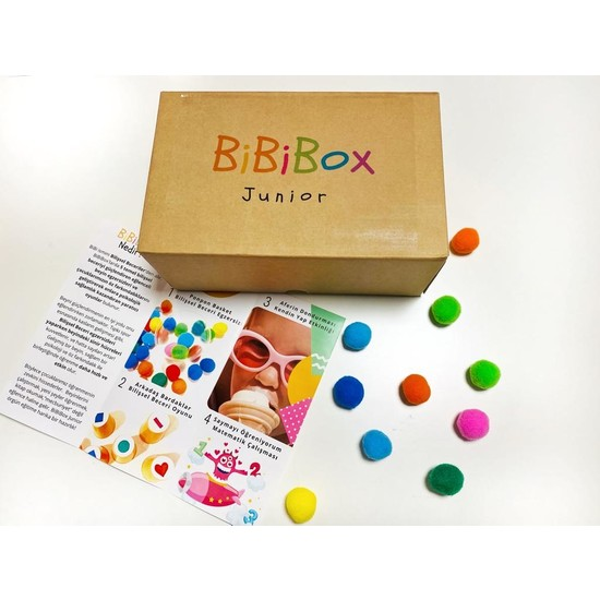 BiBiBox Junior Beyin ve Zekâ Geliştirici Etkinlik Kutusu