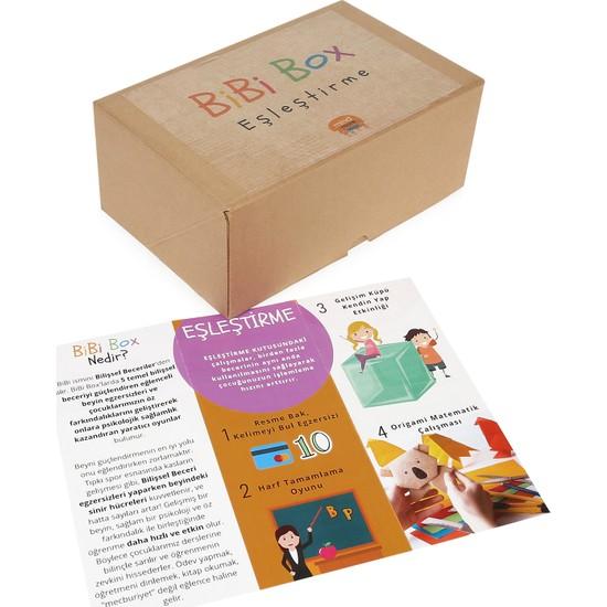 BiBiBox Eşleştirme Beyin ve Zekâ Geliştirici Etkinlik Kutusu