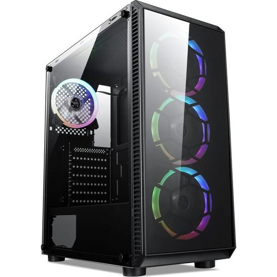 Turbox Tx100 Intel Core i5 650 Turbo 3.46GHz 8GB Ram 240GB SSD 4GB Ekran Kartı Freedos Oyun Bilgisayarı
