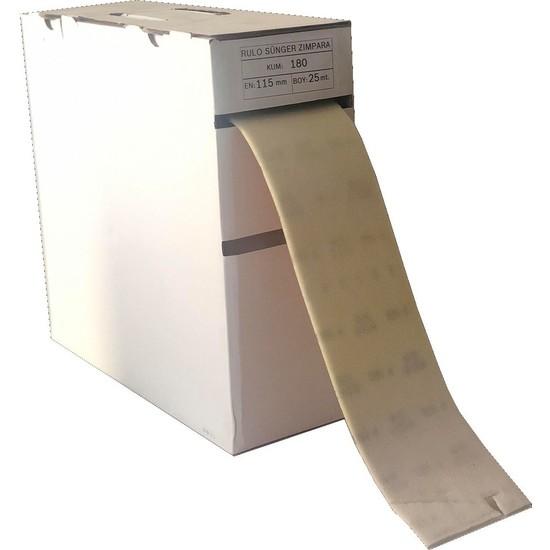 Egeli Rulo Sünger Zımpara 220 Kum 115MM 1 Metre