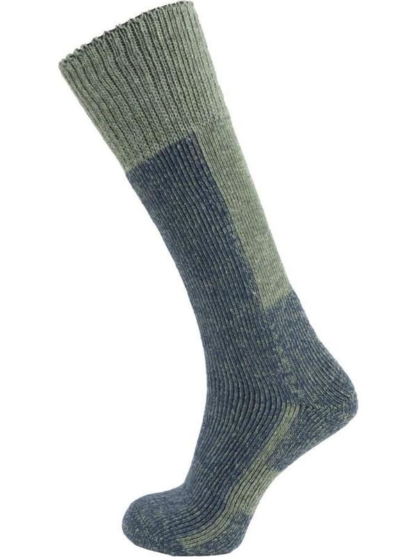 Panthzer Ski Socks Yeşil/lacivert