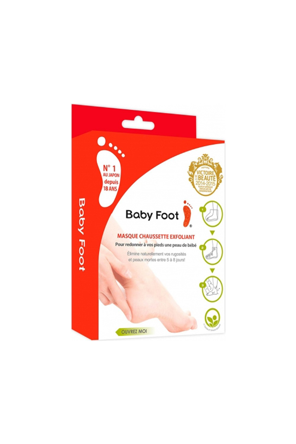 Foot lavender-scented baby 2x35 ml