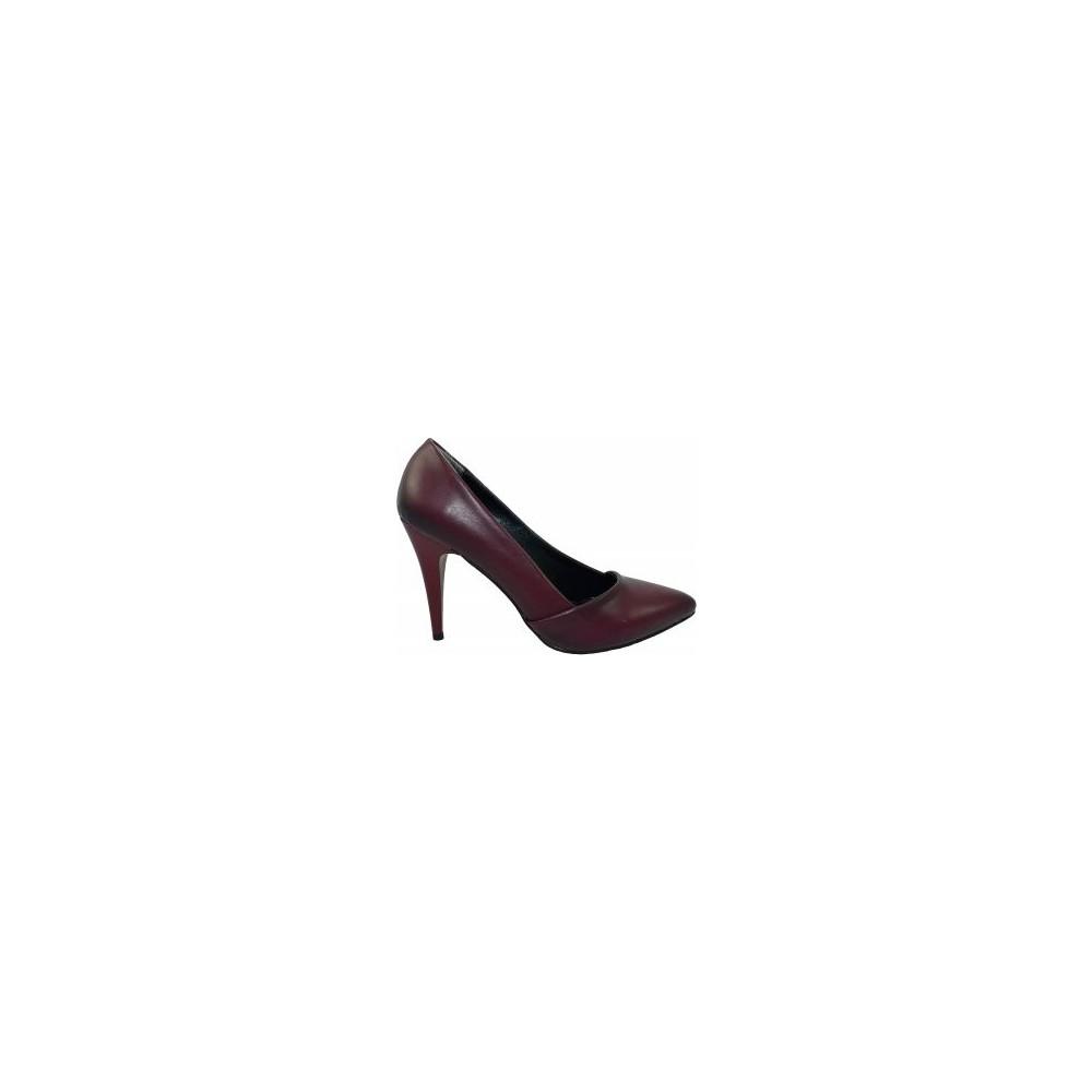 Jill 604 Siyah Stiletto Ayakkabı