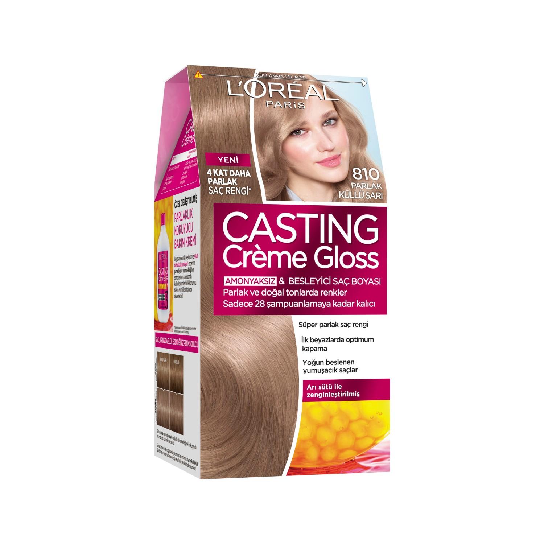 Loréal Paris Casting Crème Gloss Saç Boyası 810 Parlak Fiyatı