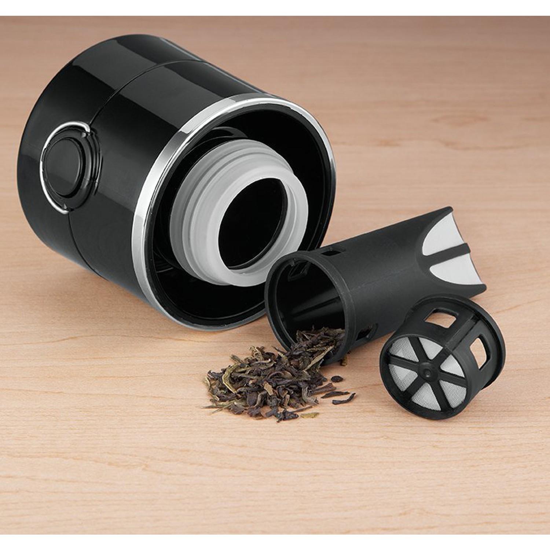 Thermos NS 403 Çay Demleme Aparatlı Mug Termos 470ml. Siyah Fiyatı