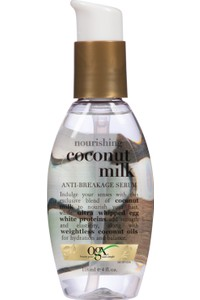 Organix Nourishing Coconut Milk Anti-Breakage Serum and 118 mL <br/> Organix Coconut Milk Coconut Milk Hair Care Serum Repair Serum 118 ml