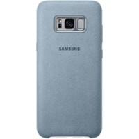 Samsung Galaxy S8 Plus Alcantara Kılıf Gri - EF-XG955AMEGWW