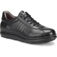 Kinetix Vito Siyah Erkek Deri Ayakkabı
