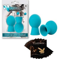 Relax Nippless Vakumu - Mavi + 5 Paket Playboy Kaydırıcı Jel