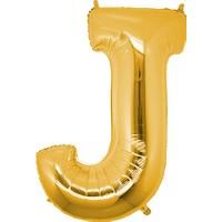Kbkticaret J Harfi 100 Cm İthal Harf Balon