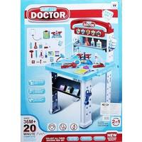 Bircan Play Set Mavi Kutulu Doktor Seti