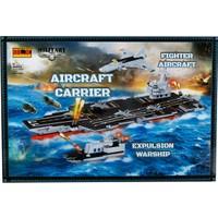 Sunman 00802 Sun Asker Araç Set Uçak Gemisi 894Prç.-Rst-Jıe