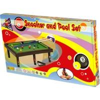 Akçiçek Oyuncak 011 Snooker Poolset Bilordo