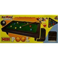 Akçiçek Oyuncak 040 Midi Pool Ort.Boy Bilardo Oyunu