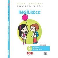 Fon Yayınları 2. Sınıf Pratik Serisi İngilizce Soru Bankası