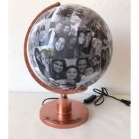 Zeta Fotoğraflı Dünya Küresi