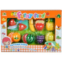 Lima Funny Food 18 Parça Kesme Tahtalı Oyuncak Eğitici Kesilebilen Meyve Seti