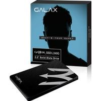 """Galax Gamer SSD L 240 GB S11 520MB-500MB/s Sata 3 2.5"""" SSD"""