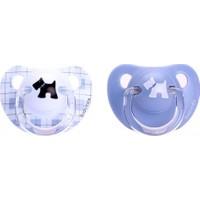 Suavinex Evolution Silikon Ortodontik Emzik 6+ Ay Mavi 2'Li