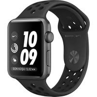 Apple Watch Seri 2 42mm Uzay Grisi Alüminyum Kasa ve Antrasit/Siyah Nike Spor Kordon - MQ182TU/A