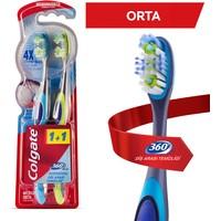Colgate Diş Fırçası 360° Diş Arası Temizliği Orta 1+1