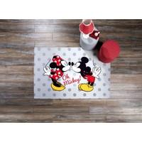 Taç Lisanslı Minnie-Mickey Love 120x180 cm Halı