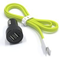 ModaCar 2 USB Çakmak Girişli Iphone 5 ve 6 Şarj Kablosu 102435