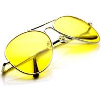 Modacar Metal Çerçeve Gece Sürüş Ve Sis Gözlüğü Gözlük Tutucu Hediyeli 424498