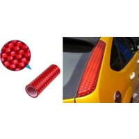 ModaCar 3D Kırmızı Stop Renklendirme Filmi 37p013