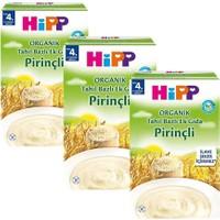 Hipp Organik Pirinçli Tahıl Bazlı Kaşık Maması 200 gr - 3'lü