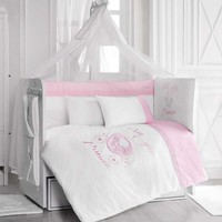 Pierre Cardin Pink For Princesses Bebek Uyku Seti 70x130