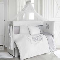 Pierre Cardin White Birdy Bebek Uyku Seti 70x130