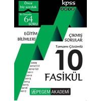 2018 Kpss Eğitim Bilimleri 2009 – 2017 Tamamı Çözümlü 10 Fasikül Çıkmış Sorular