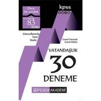 2018 Kpss Genel Yetenek : Genel Kültür Vatandaşlık 30 Deneme