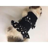 Dogi & Dog Siyah Puantiyeli Elbise