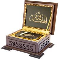 Ahşap Kutulu Kur'Ân-I Kerim (0123 - Çanta Boy)