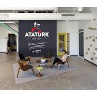 Freya Atatürk Bütün Ümidim Gençliktedir Duvar Stickerı