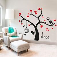 Freya Ağaç ve Kafes Duvar Stickerı