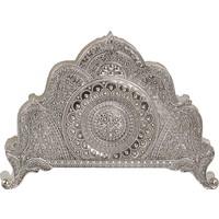 Fidex Home Gümüş Kaplama Telkari Peçetelik