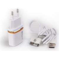 Ligovi Dl Ac50 iPhone 4/4S Uyumlu Şarj Cihazı (Tekli)