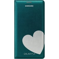 Samsung Galaxy S5 Flip Cüzdanlı Kapak (Moschino Heart G/S)