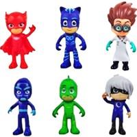 Kkd Pijamaskeliler Pjmasks Yumuşak Et Figür Oyuncakları 6 Karakter