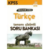 Data 2018 Kpss İnovasyon Serisi Türkçe Tamamı Çözümlü Soru Bankası