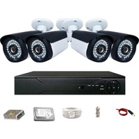 Promax Pro236 4'lü 3 Megapiksel Lens 1080P Aptina Sensör Güvenlik Kamerası Seti