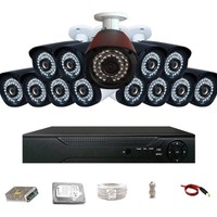 Promax Pro236 13'lü 3 Megapiksel Lens 1080P Aptina Sensör Güvenlik Kamerası Seti