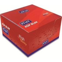 Kraf Küp Blok Beyaz 8X8cm (115G)